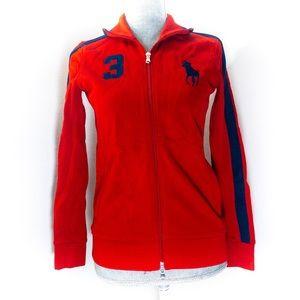 Ralph Lauren Golf zip up sweater women's size S